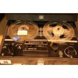 Cased Acecord model 500 reel to reel player. P&P Group 3 (£25+VAT for the first lot and £5+VAT for