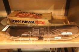 Xbox 360 Tony Hawk Ride skateboard. P&P Group 3 (£25+VAT for the first lot and £5+VAT for subsequent