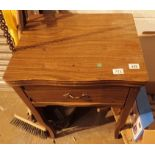 Singer sewing machine table. Not available for in-house P&P, contact Paul O'Hea at Mailboxes on