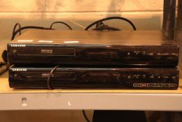 Two Samsung full multi recording players. Not available for in-house P&P, contact Paul O'Hea at