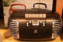 GPO PCD299 3-in-1 FM/AM Radio, CD and Cassette player; working at time of lotting. P&P Group 2 (£