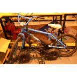 Child's X Rated spine BMX bike and a small Venom bike. Not available for in-house P&P, contact