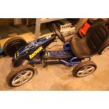 Child's Batman go kart. Not available for in-house P&P, contact Paul O'Hea at Mailboxes on 01925