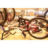 "Apollo Charms child's mountain bike, 6 speed with 20"" wheels. Not available for in-house P&P,"