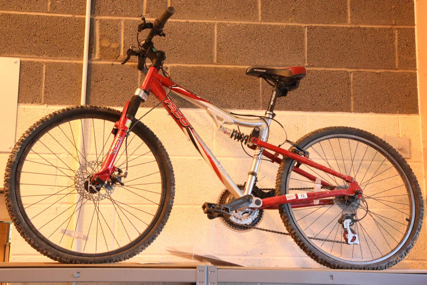 """Apollo FS26X 21 speed bike with mono rear shock and 17"""" frame. Not available for in-house P&P,"""