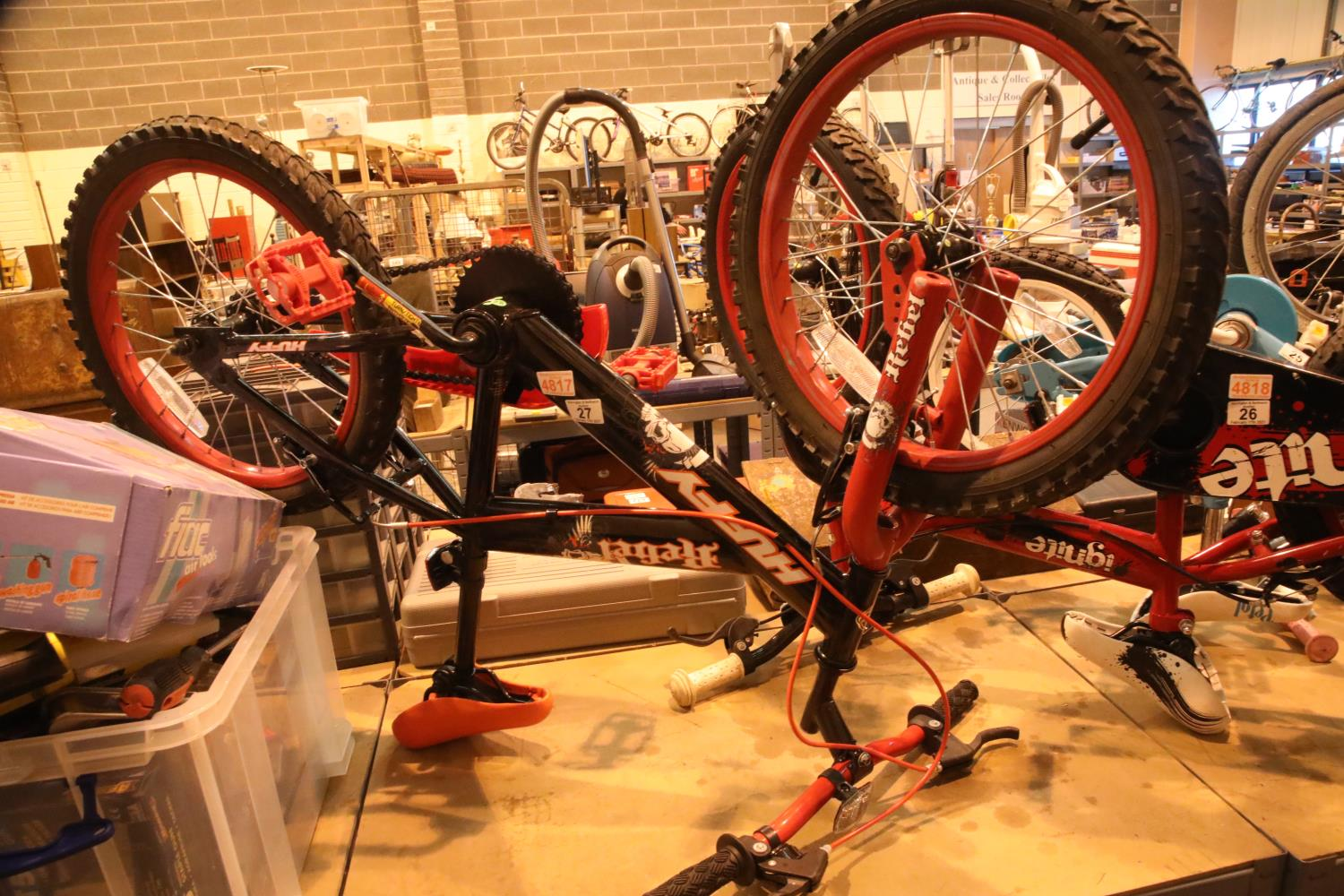 """Huffy Rebel child's mountain bike with 18"""" wheels. Not available for in-house P&P, contact Paul O'"""