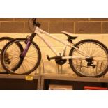 """Berg Charm 243 18 speed bike with 14"""" frame. Not available for in-house P&P, contact Paul O'Hea at"""