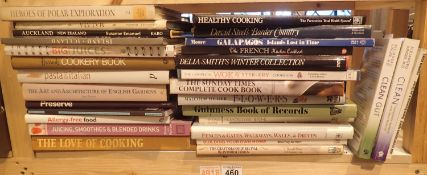 Shelf of mixed books. Not available for in-house P&P, contact Paul O'Hea at Mailboxes on 01925