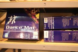 Three Logic 3 PS1 and PS2 dance mats. P&P Group 3 (£25+VAT for the first lot and £5+VAT for