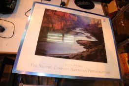 Large framed and glazed print the Nature Company/American Photography Joseph Holmes with printed