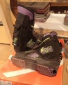 Pair of Italian Nordica ski boots, size 10. Not available for in-house P&P, contact Paul O'Hea at