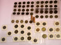 Victorian and later UK coins, including uncirculated etc. P&P Group 1 (£14+VAT for the first lot and