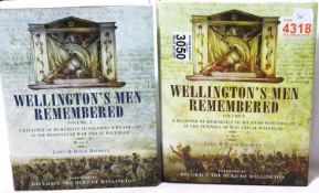 Wellington's Men Remembered volumes I & II comprised by Janet and David Bromley, being a register of