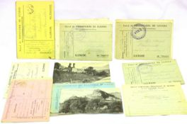 Collection of twenty German WWI POW letters and cards from Officer Maisel to his wife Sofie. P&P