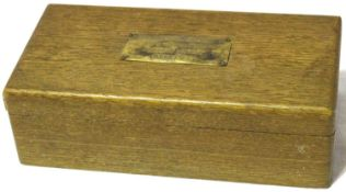 WWII box of dominoes given to British P.O.Ws by the Middlesex Womans Voluntary Services after