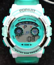 New old stock boxed Pop Art wristwatch. P&P Group 1 (£14+VAT for the first lot and £1+VAT for