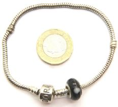 Pandora silver bracelet, 14.1g. P&P Group 1 (£14+VAT for the first lot and £1+VAT for subsequent