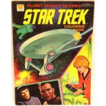 Star Trek colouring book c1970. P&P Group 1 (£14+VAT for the first lot and £1+VAT for subsequent