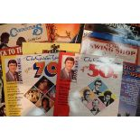 Two boxes of easy listening LPs to include Frank Sinatra etc. Not available for in-house P&P,