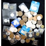 Collection of mixed UK and world coinage. P&P Group 1 (£14+VAT for the first lot and £1+VAT for
