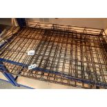 Medium sized folding wire pet cage. Not available for in-house P&P, contact Paul O'Hea at