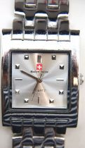 Gents Swiss military wristwatch. P&P Group 1 (£14+VAT for the first lot and £1+VAT for subsequent