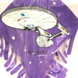 STAR TREK III; Promotional Kite 1984, It Can Really Fly. P&P Group 2 (£18+VAT for the first lot