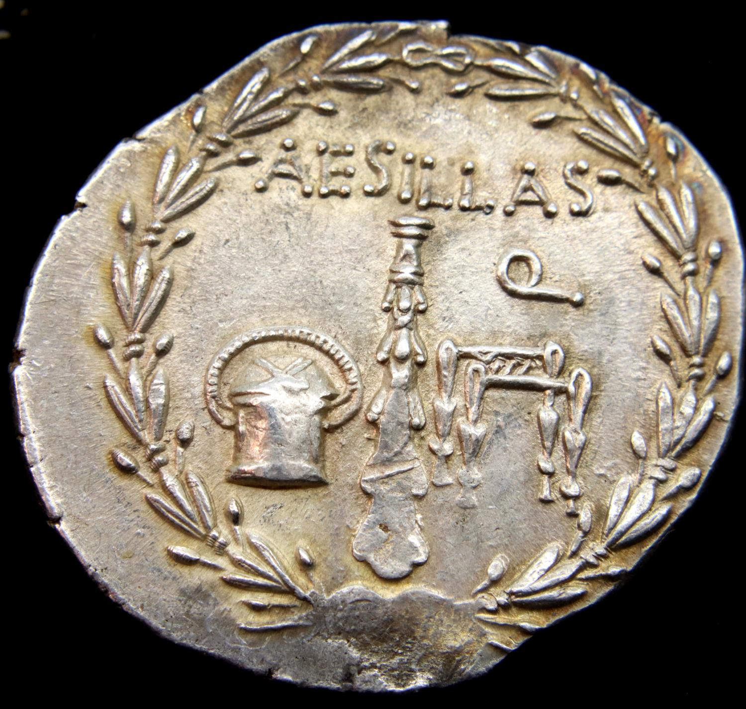 Silver tetradrachm of Alexander The Great, heavy gauge 16.7g. P&P Group 1 (£14+VAT for the first lot