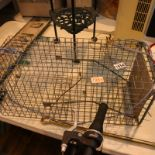 Large wire rat trap. Not available for in-house P&P, contact Paul O'Hea at Mailboxes on 01925 659133