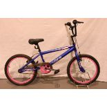 Childs Vibe Zonke 11'' frame BMX. Not available for in-house P&P, contact Paul O'Hea at Mailboxes on