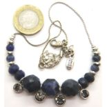 Pilgrim Danish design necklace. P&P Group 1 (£14+VAT for the first lot and £1+VAT for subsequent