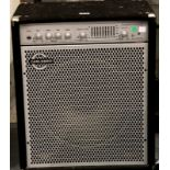 Bass Beasty amplifier by Carlsbro. Not available for in-house P&P, contact Paul O'Hea at Mailboxes