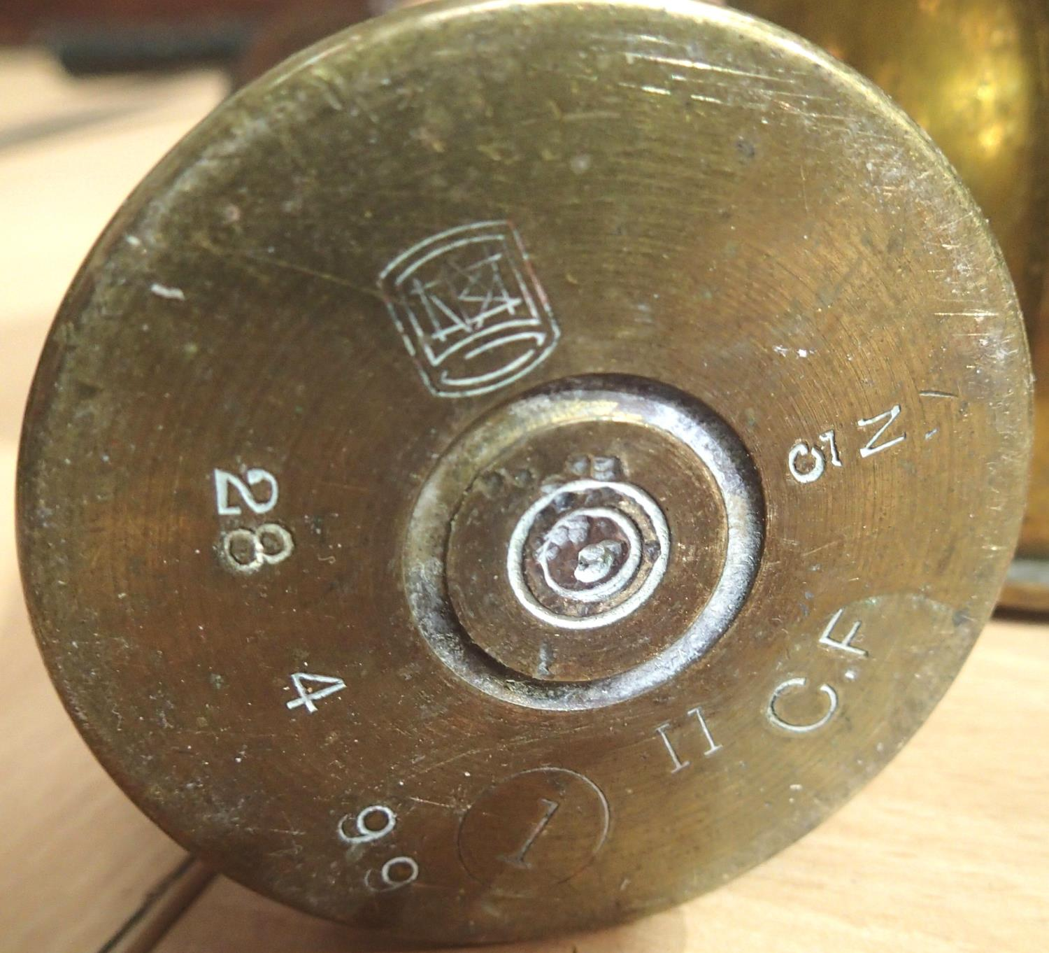 Collection of fourteen inert brass shell cases from various periods. Not available for in-house P&P, - Image 5 of 5
