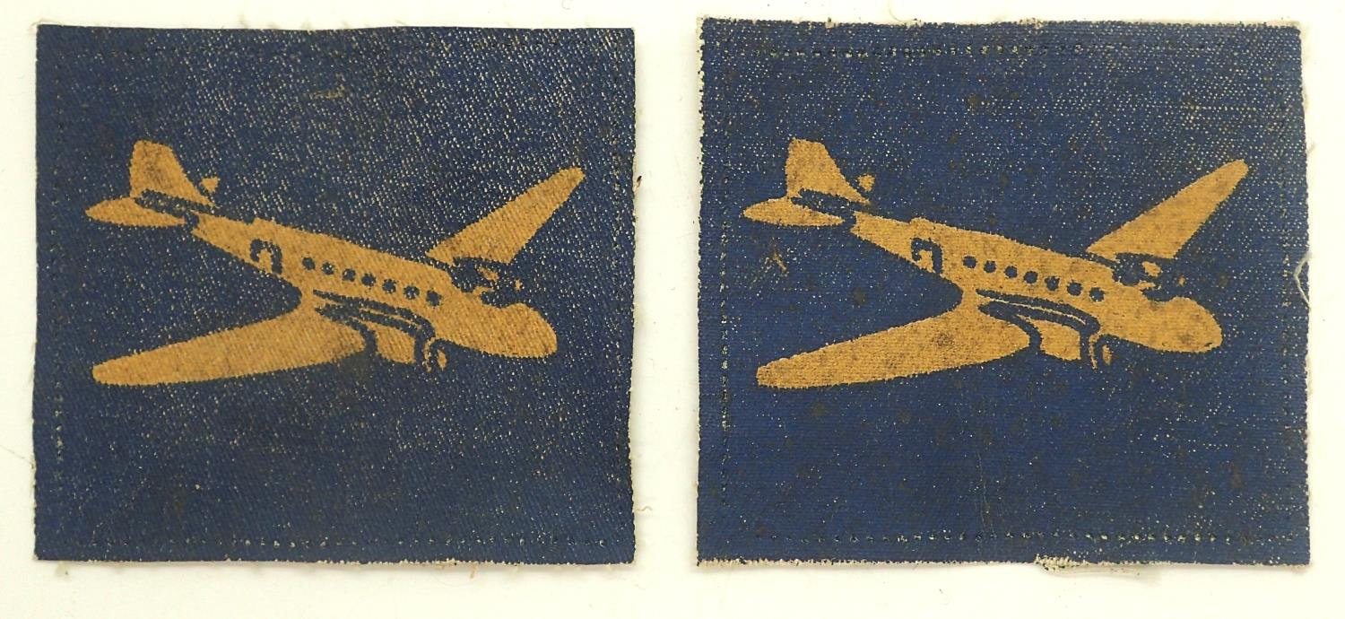 Pair of Royal Corps of Transport shoulder patches. P&P Group 1 (£14+VAT for the first lot and £1+VAT