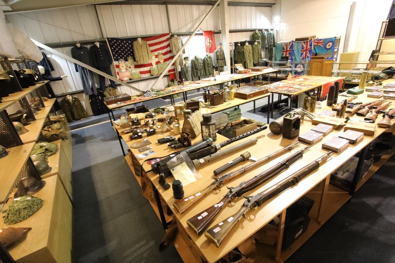 2pm START - The Monthly Militaria, Arms & Re-enactment Sale