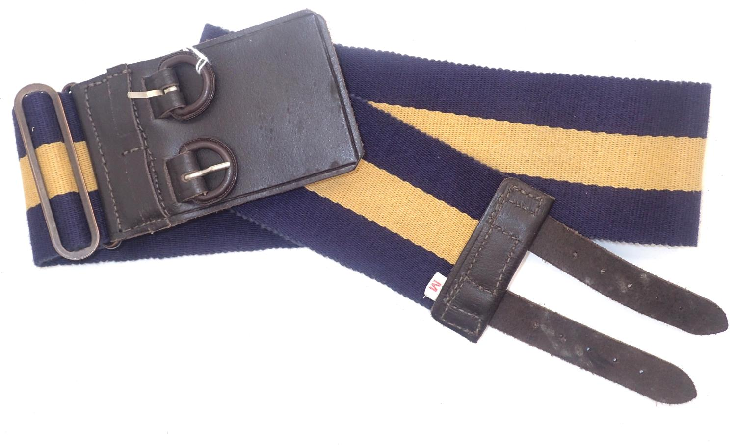 Princess Royal regiment stable belt, size M. P&P Group 1 (£14+VAT for the first lot and £1+VAT for