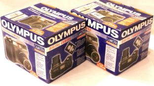 Two new old stock Olympus digital cameras model C3040 zoom. P&P Group 3 (£25+VAT for the first lot