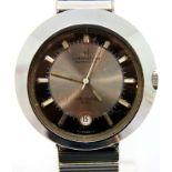 1969 Hamilton 2001 Space Odyssey gents automatic date wristwatch on an expanding bracelet, not