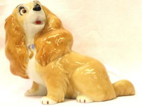 Wade blow up Lady, H: 12 cm. P&P Group 1 (£14+VAT for the first lot and £1+VAT for subsequent