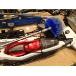 Mixed collection of vacuum cleaners and accessories. Not available for in-house P&P, contact Paul