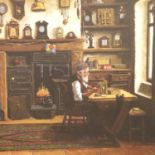 Jim Andrew; limited edition print, The Clockmaster, 118/850. Not available for in-house P&P, contact
