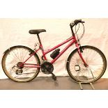 Girls Universal Epic VX425 21 speed 14'' frame bike. Not available for in-house P&P, contact Paul