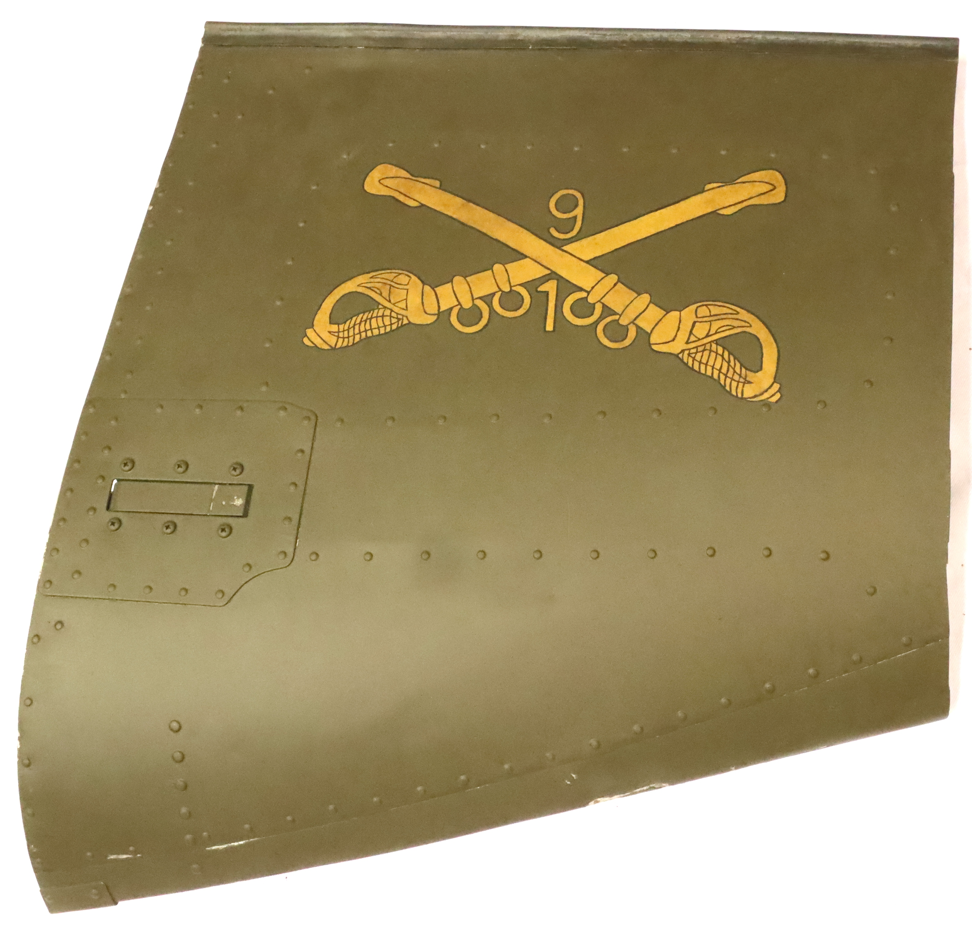 Vietnam War Era. Genuine Bell Huey UH-1 Helicopter Fragment. This came from a bar in Ho Chi Minh