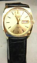 Seiko; boxed gents automatic wristwatch. working at lotting up. P&P Group 1 (£14+VAT for the first