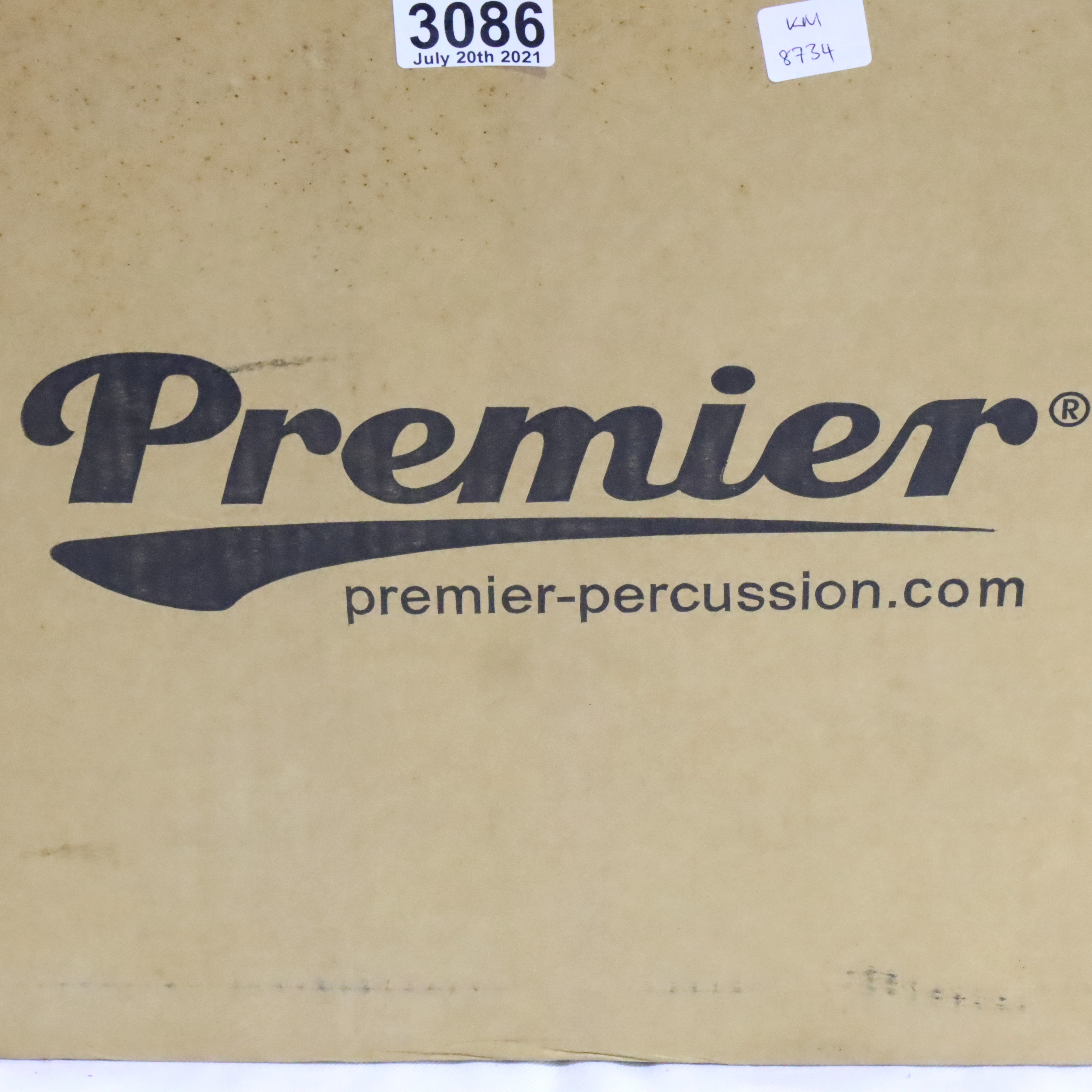 New boxed Premier Percussion drum. Not available for in-house P&P, contact Paul O'Hea at Mailboxes - Image 2 of 4