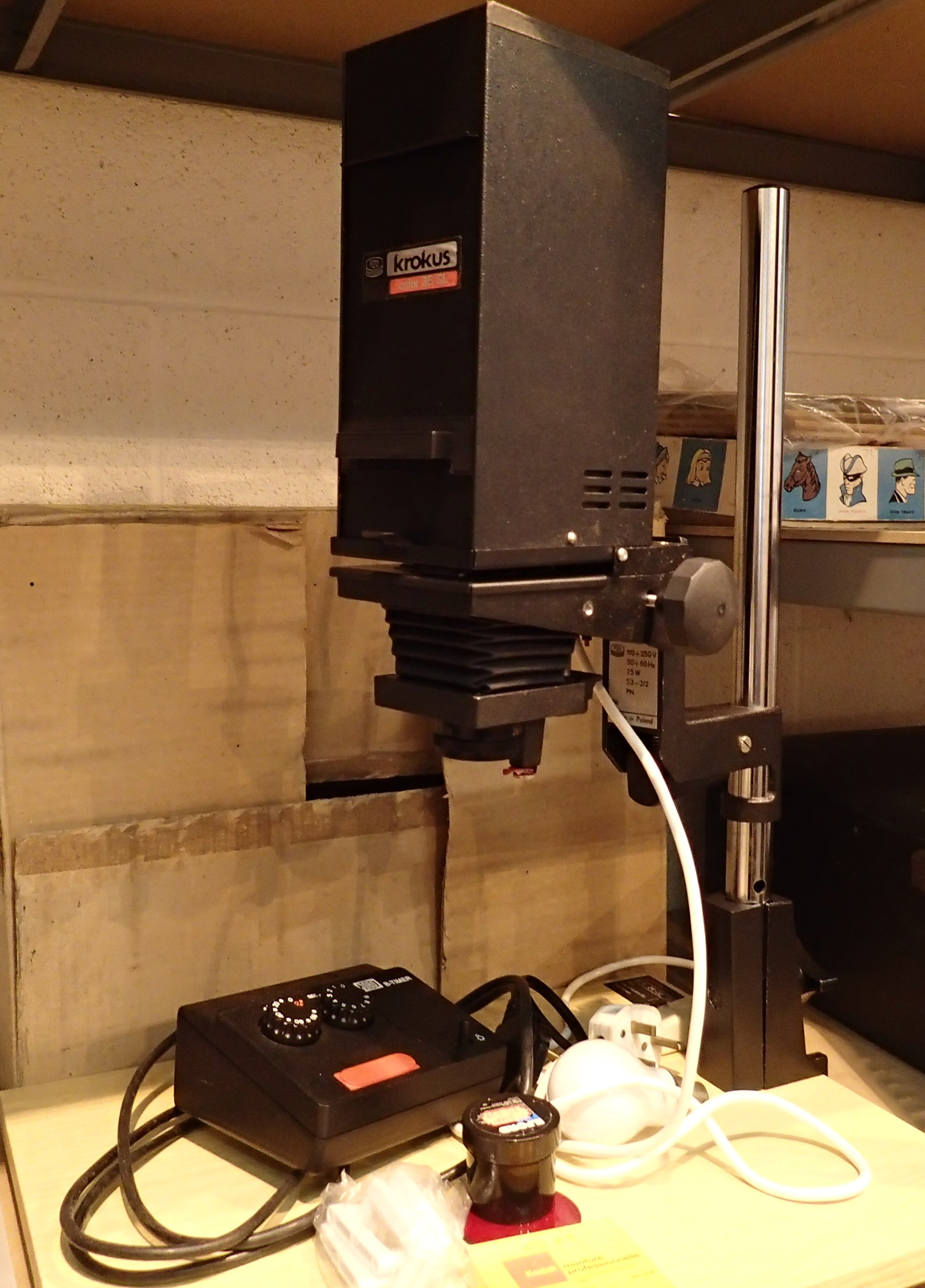 Krokus colour 35 SH photographic enlarger. Not available for in-house P&P, contact Paul O'Hea at