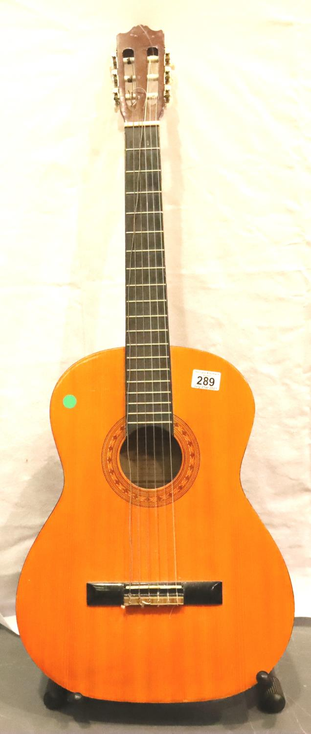 Hohner six string acoustic guitar. Not available for in-house P&P, contact Paul O'Hea at Mailboxes