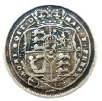 1816 sixpence of George III. P&P Group 1 (£14+VAT for the first lot and £1+VAT for subsequent lots)