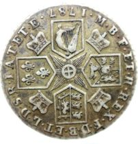 1787 shilling of George III. P&P Group 1 (£14+VAT for the first lot and £1+VAT for subsequent lots)