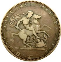 1819 crown of George III - LIX. P&P Group 1 (£14+VAT for the first lot and £1+VAT for subsequent